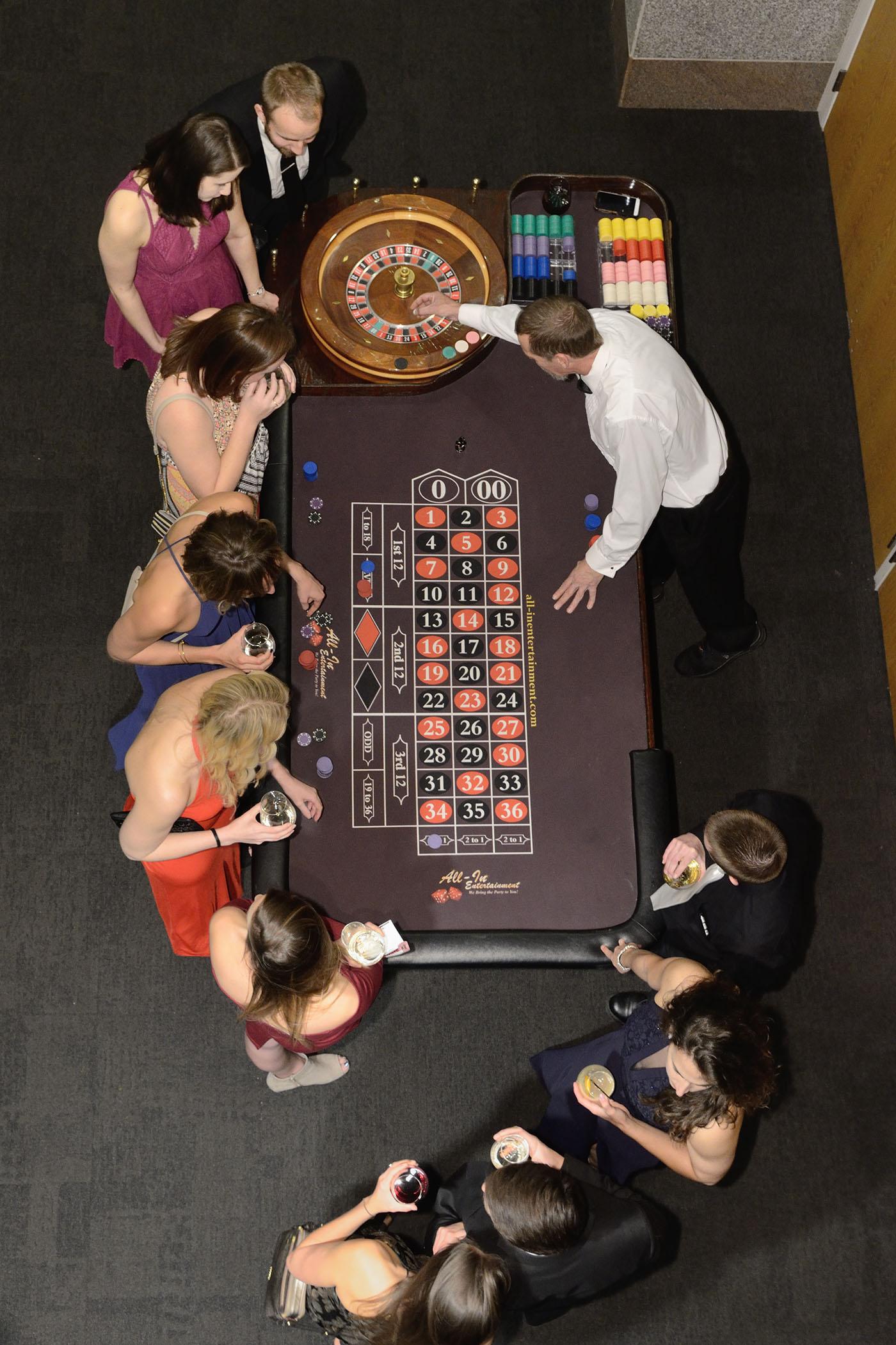 YA Casino Night
